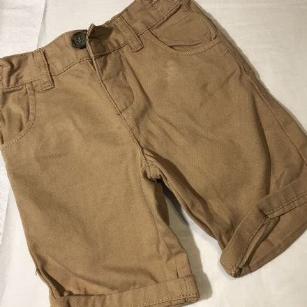 12-18 Month Mustard Shorts